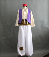 Anime Aladdin Lamp Prince Cosplay Costume Adult Halloween Costume For Men Aladdin Costumes Full Set
