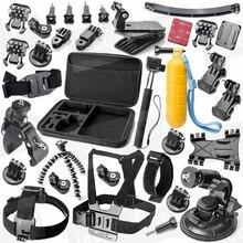 JACQUELINE for Gopro hero 5 4 3+Accessories Mount Kit for Sony Action Cam AS200V FDR-X1000V W 4K AS30V AS100V HDR-AZ1 Mini