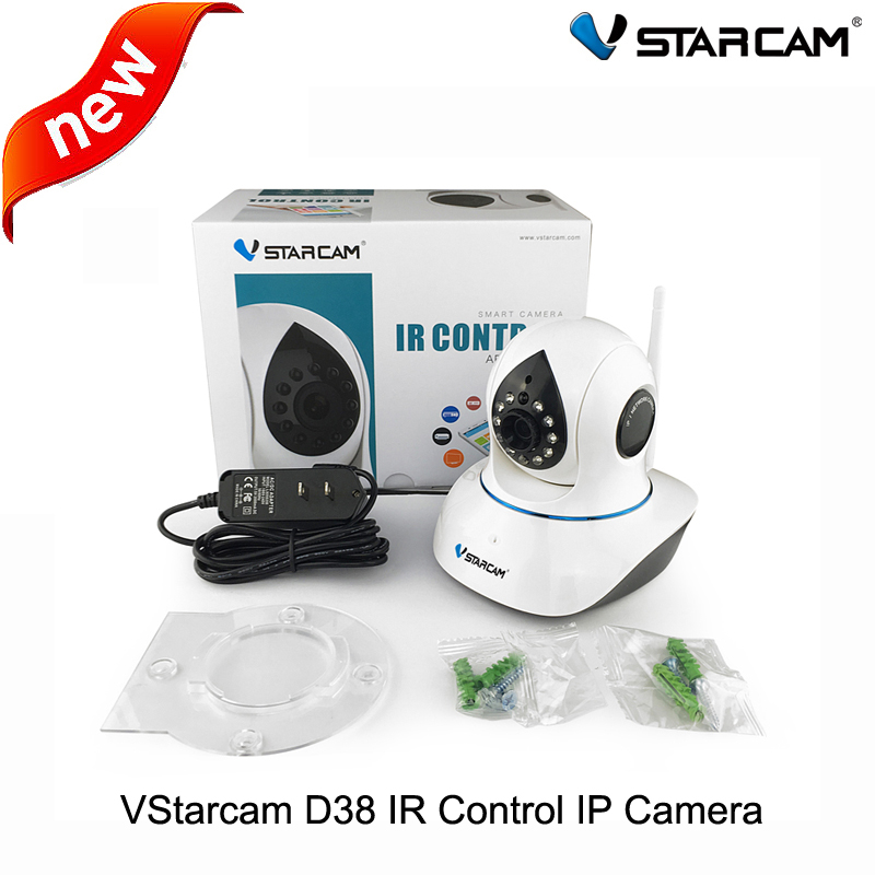 ФОТО Vstarcam D38 Home Automation Remote Control Air Conditioner Onvif 720P Wireless IP Surveillance Camera support 64GB TF card