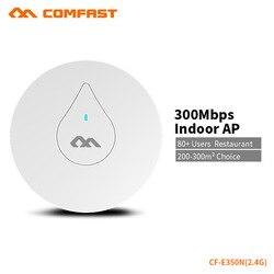 COMFAST 300Mbs potężny Router wi-fi sufitowy wzmacniacz sygnału wi-fi zawiera 48V POE wsparcie OpenWRT 300 metrów kwadratowych pokrycie CF-E350N