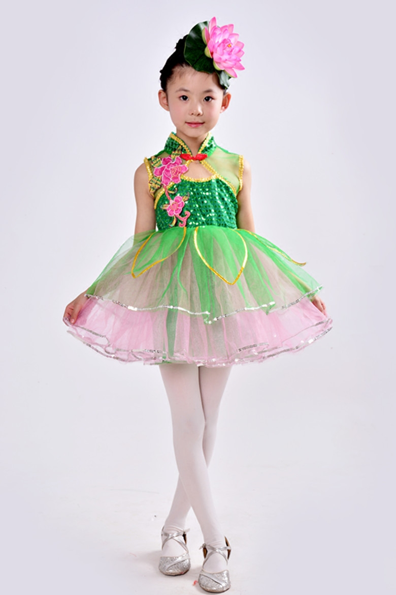 Children jasmine flower dance costume girl lotus style fairy dance children jasmine flower dance costume girl lotus style fairy dance skirt ballroom dance costume in ballroom from novelty special use on aliexpress izmirmasajfo