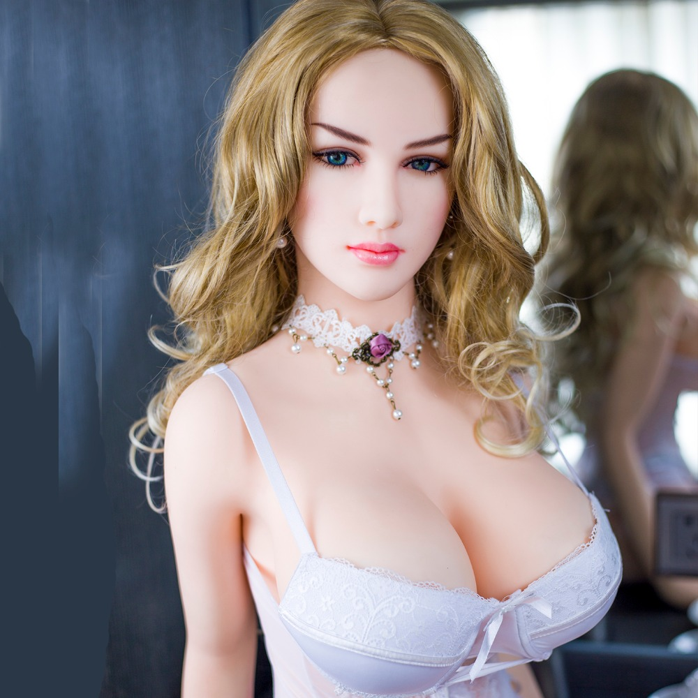 JUSE Brand 163cm Russian eauty Real Silicone font b Sex b font Dolls TPE Lifelike Full