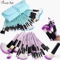 VANDER Professional 32 Pcs Cosmetic Makeup Brushes Set Makeup Brushes Foundation Powder Blush Eyeliner Brushes With