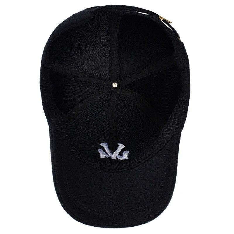 2017 мода на осень-зиму шерсть бейсболка snapbkack Мужская и женская шляпа  вышивка NY открытый Утепленная одежда Bone  56d5ad1d651a5