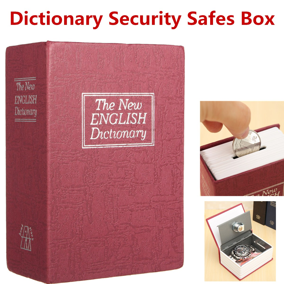 Secret Book Safe Box