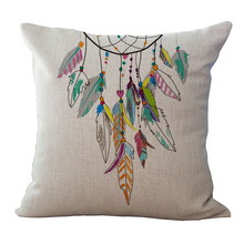 Romantic Dream Catcher Printed Pillowcase  45×45 cm