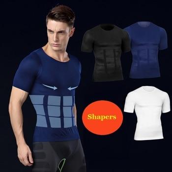 Muški steznik majica kratki rukav / steznik za muškarce majica kratki rukav