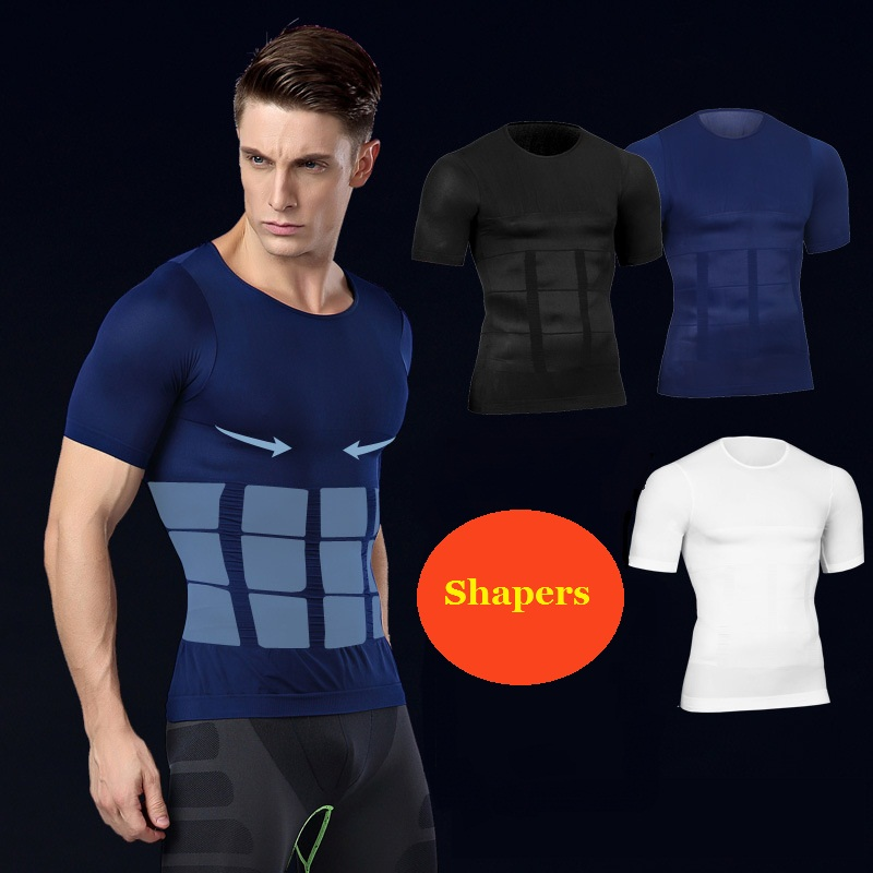Men Abdomen Slimming Shaper Vest for Shirts