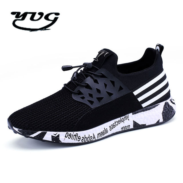 1964f5f8e69b 2017 New Running Shoes for Men Summer Autumn Men Sport Sneakers Lace Up Low  Top Jogging Shoes Athletic Footwear Breathable Sale