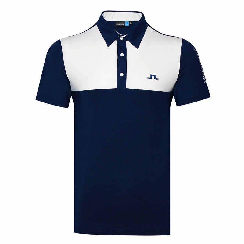 e2720b87a Cooyute New Sportswear Short sleeve JL Golf T-shirt 3colors JL Golf clothes  S-