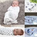 2016 Newborn Baby Blankets super sale cotton infant swaddle sleeping wrap 120x120cm Prop Crib home bed supplies baby blankets