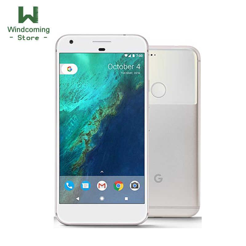 Ban đầu Google Pixel XL 4GB RAM 32 GB/128 GB ROM 4G LTE Di Động Android điện thoại 5.5 ''Quad Core Vân Tay NFC Mở Khóa điện thoại di động
