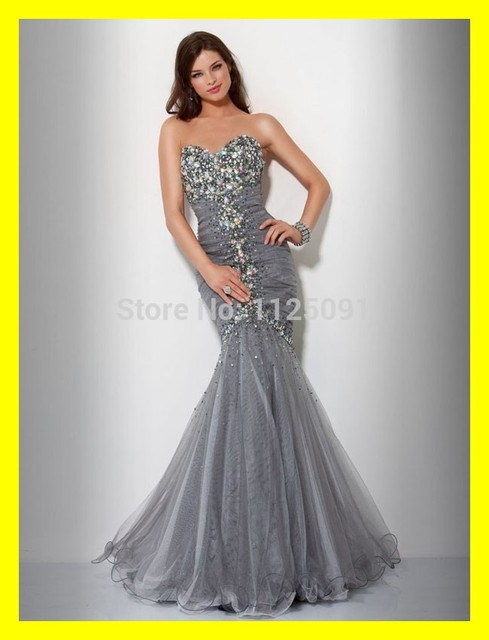 d70bc0eb4aaf6 R&M Richards Evening Dresses Trumpet /Mermaid Floor-Length Built-In Bra  Beading Sweep Train Sweetheart Off The Shoulder Sleevele