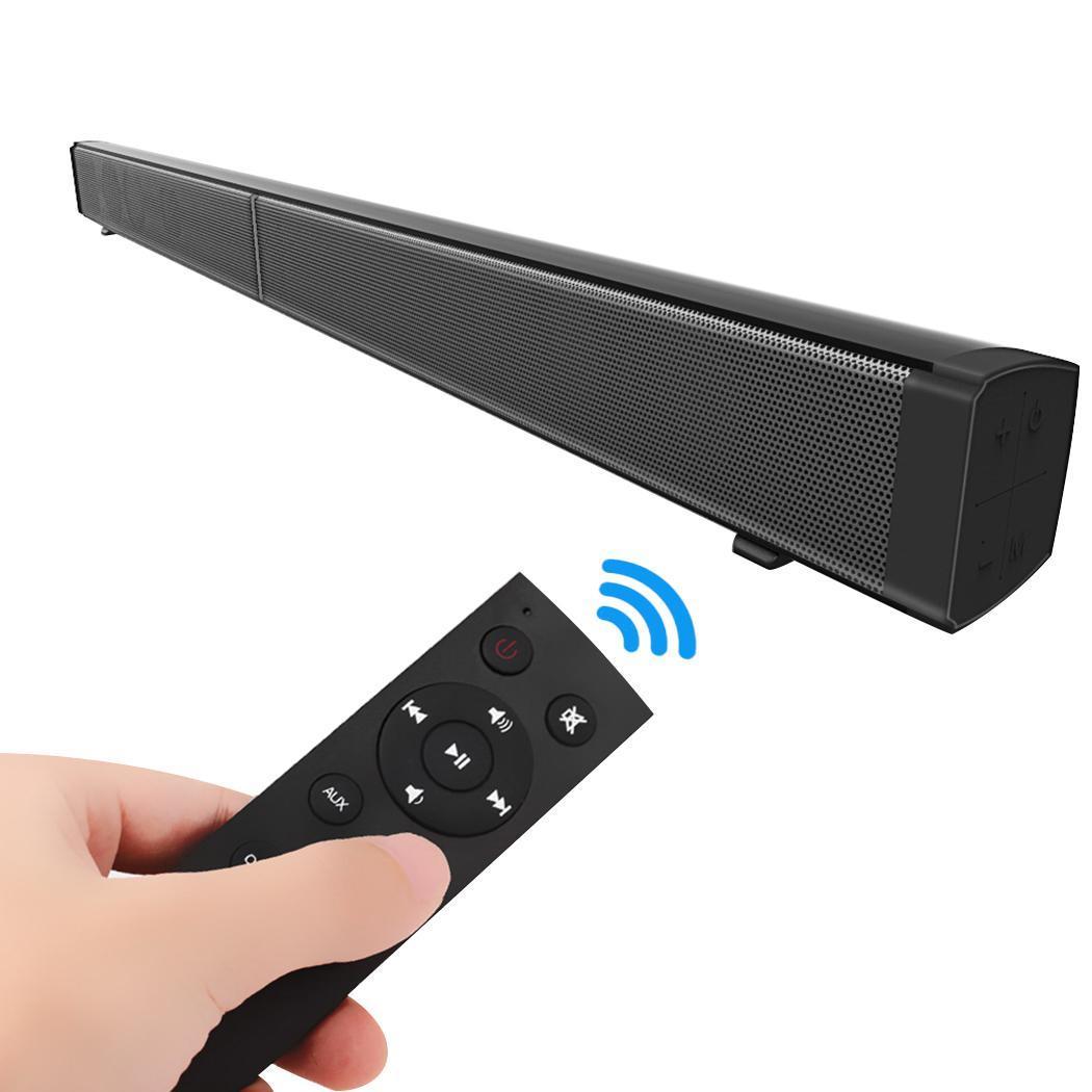 Wall-mounted Wireless Bluetooth Soundbar Speaker Television Home Theater SpeakerWall-mounted Wireless Bluetooth Soundbar Speaker Television Home Theater Speaker