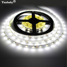 Tanbaby LED Strip light 5630 DC12V 5M 300led flexible 5730 bar light high brightness Non-waterproof indoor home  decoration