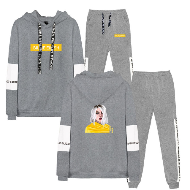 SET BILLIE EILISH HOODIE + TROUSERS (20 VARIAN)