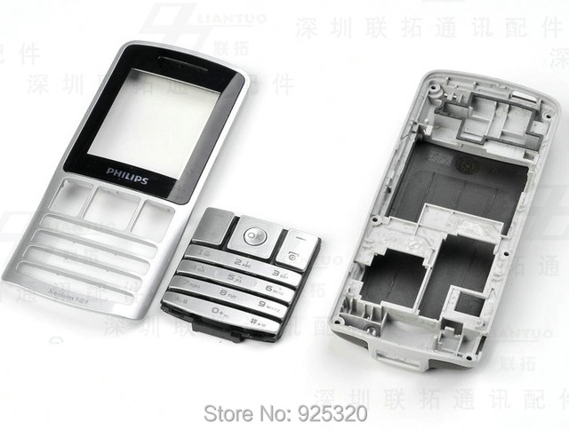 Free shipping, original Housing for Philips X130 CTX130 Mobile phone cellphone