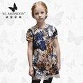Meninas Vestidos de Verão Do Bebê Meninas Roupa Dos Miúdos Vestidos de monção Limão Impressão Princesa Partido Da Menina Vestido de Algodão Crianças Se Vestem 31