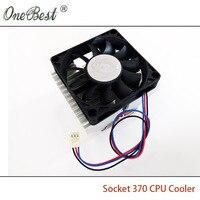 Stock Of Genuine Socket 370 CPU Cooler P3 CPU Heatsink PC Radiators With 7015 Fan For