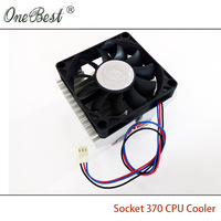 Stock Of Genuine Socket 370 CPU Cooler P3 CPU Heatsink PC Radiators With 7015 Fan For