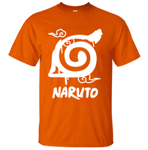 Naruto Uzumaki Anime 100% Cotton High Quality Summer Casual Fashion Men's T-shirt