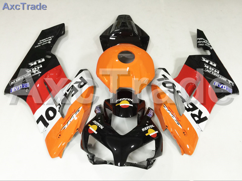 Motorcycle Fairings For Honda CBR1000RR CBR1000 CBR 1000 RR 2004 2005 ABS Plastic Injection Fairing Bodywork Kit Yellow Black injection mold fairing for honda cbr1000rr cbr 1000 rr 2006 2007 cbr 1000rr 06 07 motorcycle fairings kit bodywork black paint