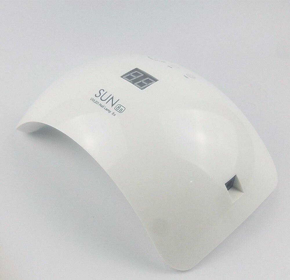 Brand 48W UV Lamp SUN8s Nail Lamp 100V-240V Nail Dryer With Auto sensor Double light Manicure Curing UV LED Gel Polish Art ToolS