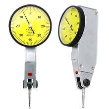 Indicador de Dial de precisión de 0 a 0,8mm medidor de Dial a prueba de agua, indicador de Dial, medidor de escala, indicador de precisión, buscador central, micrómetro
