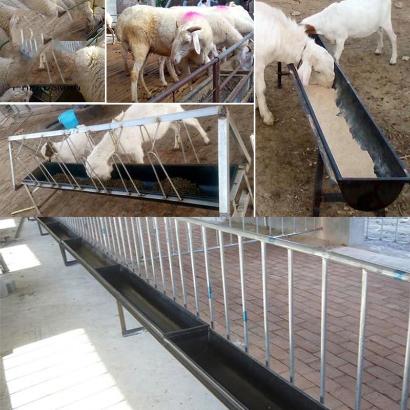 Sheep Goat Feeder Trough 1m Farm Livestock Sheep Feeding Trough Waterer  bowl drinking trough for sheep Livestock lamb calf