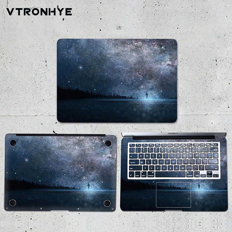 Laptop Skin Decal for Macbook Stickers Vinyl Air Pro Retina 11 13 15 Starry sky Notebook Sticker for Mac New Air 13 2018 CoverLaptop Skin Decal for Macbook Stickers Vinyl Air Pro Retina 11 13 15 Starry sky Notebook Sticker for Mac New Air 13 2018 Cover