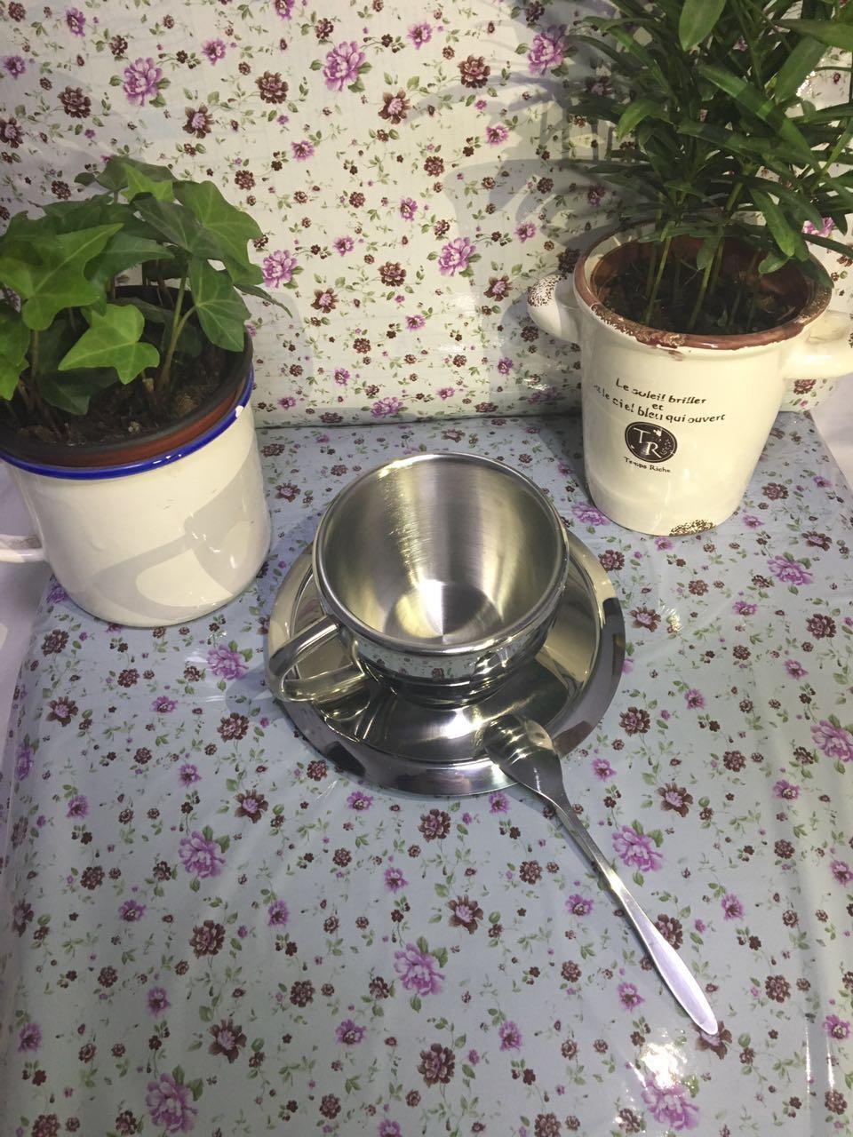 Coffee Cup Household 304 Stainless Steel Make Tea Creative Milk