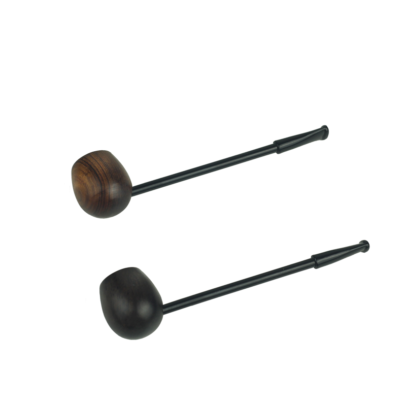 Three type Popeye Type Straight Type Smoking Pipe Wooden Tobacco Pipe for Smoking Weed Pipe W/ Food-grade Plastic Mouthpiece