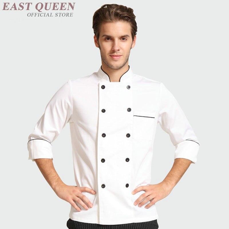 Food Service Chef Jacket Chinese Dragon Cook Clothes Women Men Hotel Kitchen Chef Uniform Clothing Restaurant Uniforms DD1009 Y