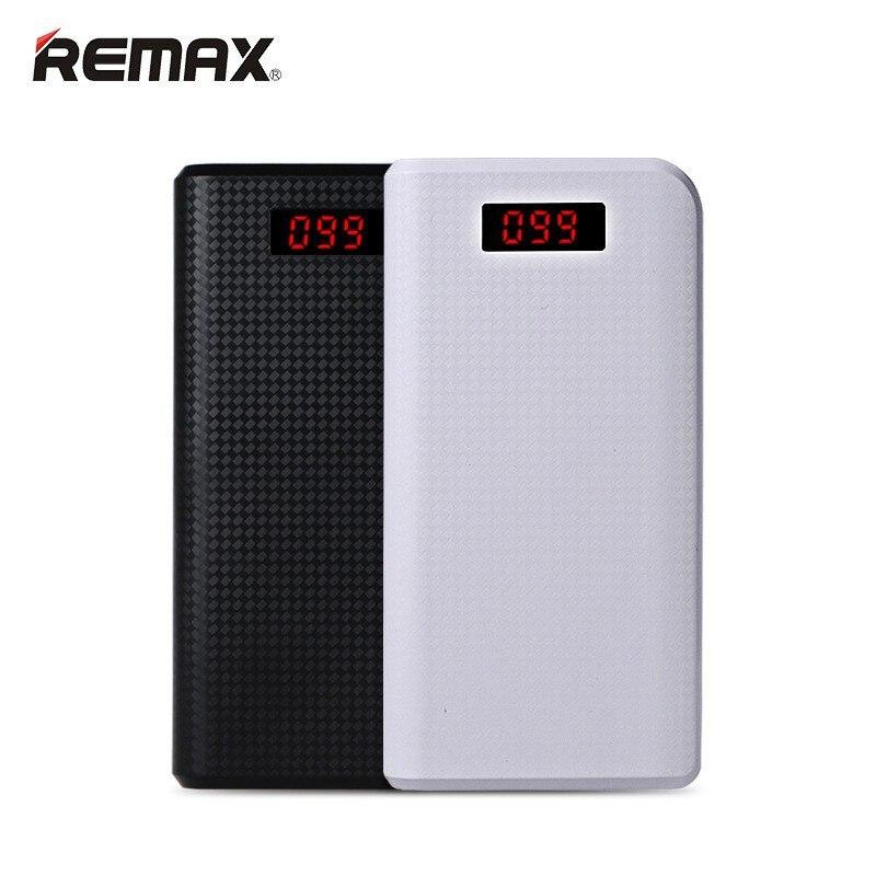imágenes para Remax energía móvil banco 30000 mah 2 led usb poderes de copia de seguridad cargador portátil de batería externa universal para iphone 6s plus samsung