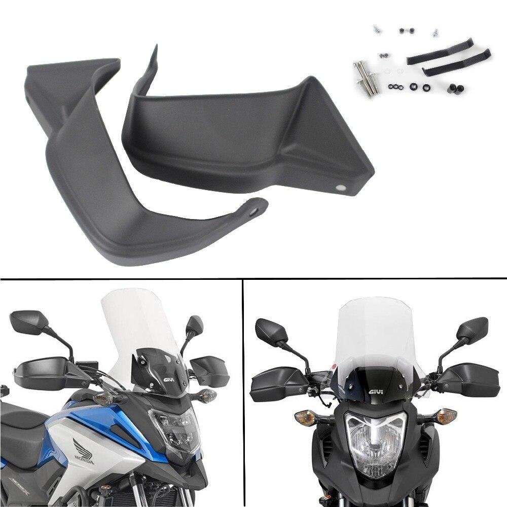 ABS Moto Garde Protecteur Noir Main Boucliers Garde Pour Honda NC700X NC750S NC750X NC750X DCT 2013-2017