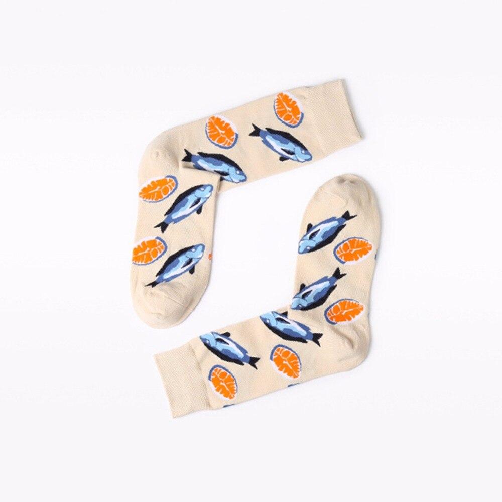 2018 Hot Van Gogh Socks Arctic shrimp pure cotton socks men and women crew sock size 34-44 autumn winter funny socks