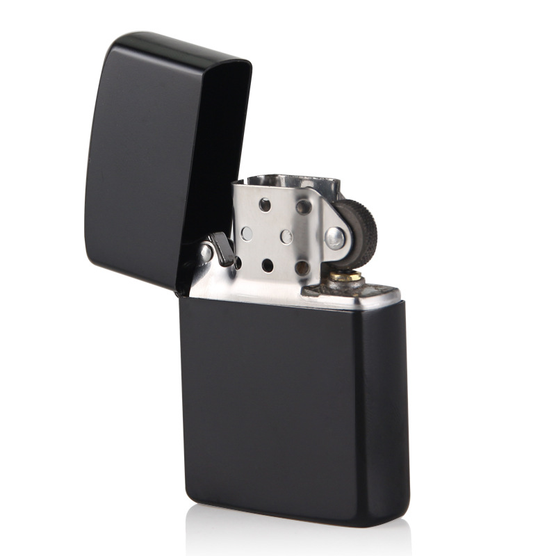Outdoor Windproof Cigarette Lighter Smoking Fuel Lighters With Free Flintstone Kerosene Lighter Gift To Smoke For Pipe