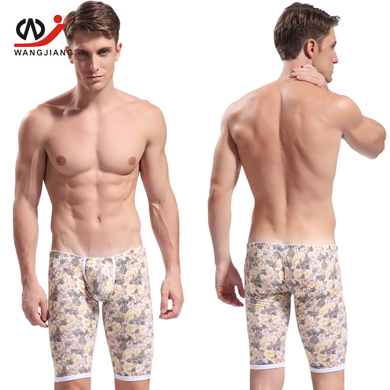 Men Sexy Compression Shorts Men Homme Shorts Clothing Joggers Cotton Mens Sexy Shorts 4005ZK