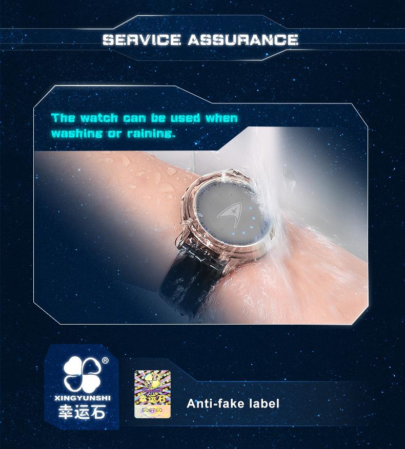 STAR TREK Models Spock Starfleet Spock LED waterproof touch screen watch hot tv series Christmas Gift 12