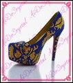 Aidocrystal итальянская обувь оптом мода hand made дамы кристалл сексуальная платформа высокие каблуки шпильках обувь