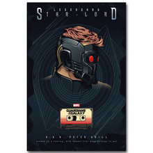 STAR LORD – Guardian of The Galaxy Art Silk Fabric Poster Print 13×20 24x36inch Superheroes Movie Picture for Room Wall Decor 21