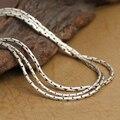 Ручная работа винтаж 925 серебряное ожерелье для подвески серебряные ожерелья настоящее серебряное ожерелье