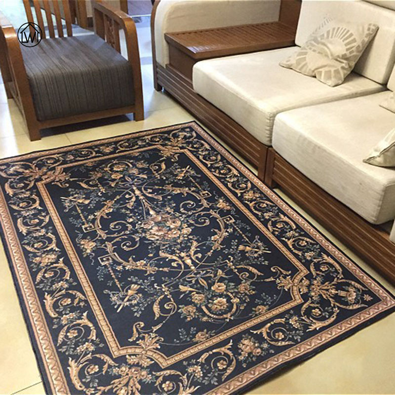 Aliexpress Buy LW Large Size Retro Classic European Short Pile Carpet Hallway Living Room Coffee Table Sofa Foor Yoga Mats Foot Doormat From