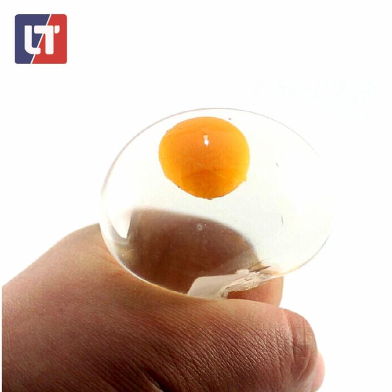 FUN Unbreakable Antistress One Yolk Egg Vent Water Polo Lizunov Jokes Squishy Smash Water Ball ...