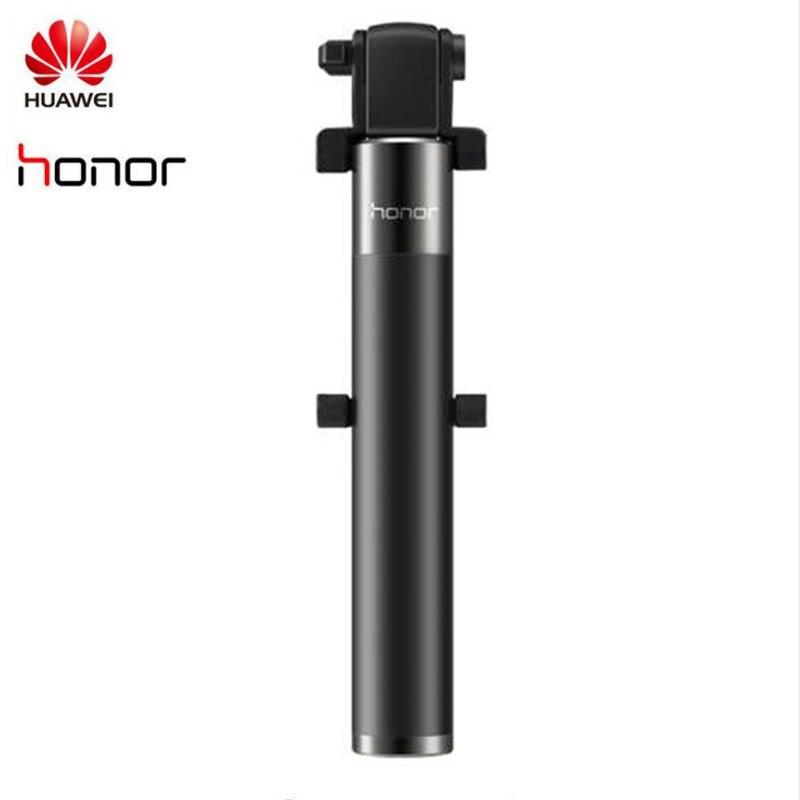 Оригинальная селфи-палка Huawei Honor, монопод, проводная селфи-палка, выдвижная ручная палка с затвором для iPhone, Android, Huawei, Xiaomi