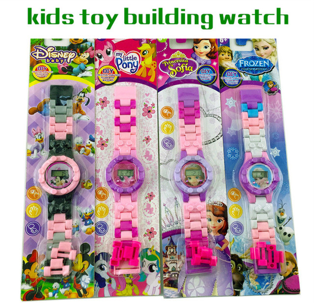 Children's Watch Compatible with LegoINGS Watch Kids LegoINGLY NinjagoINGLY Buil