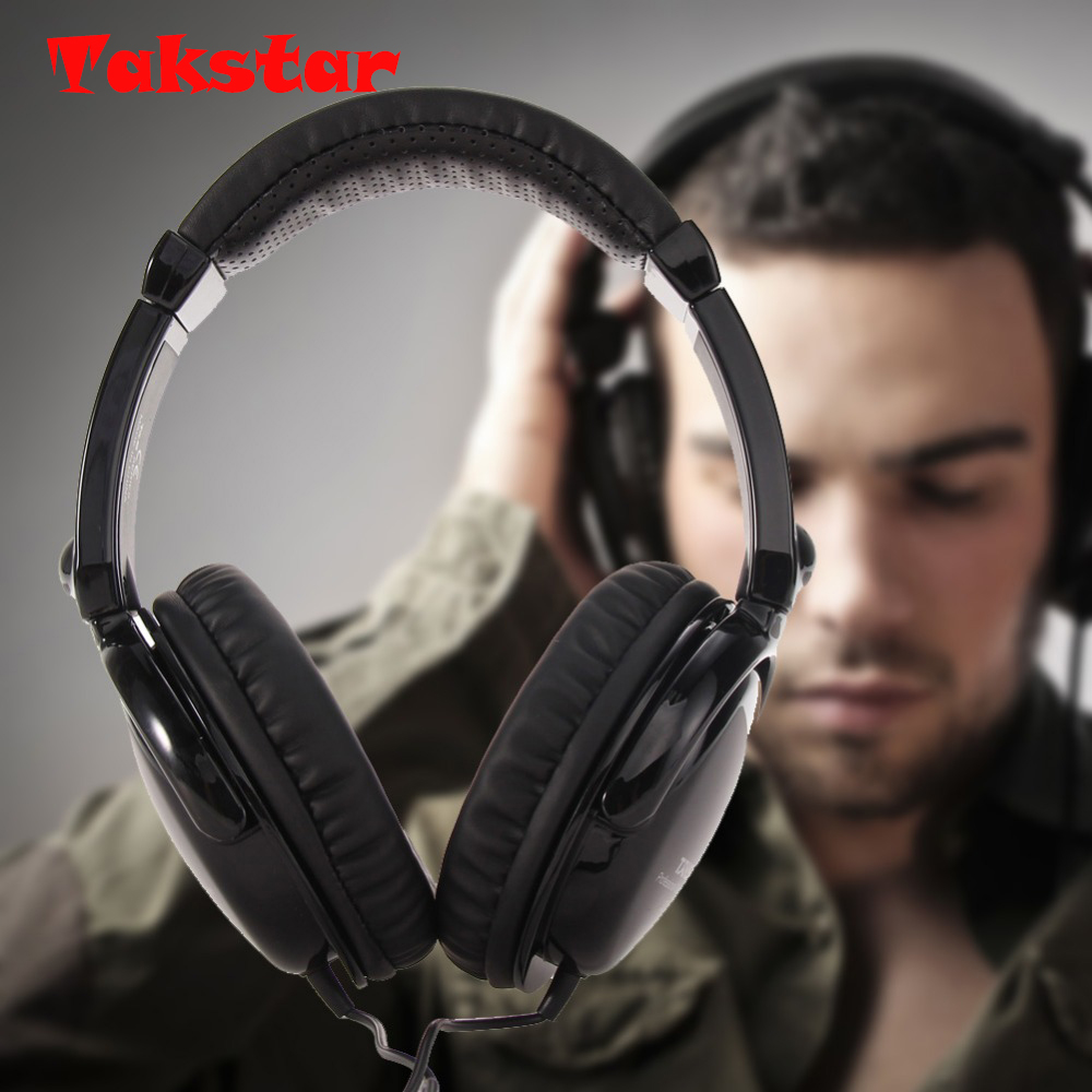 Takstar hd2000 música Monitores de DJ auriculares envío libre audio Grabación de mezcla profesional Monitores auriculares para PC