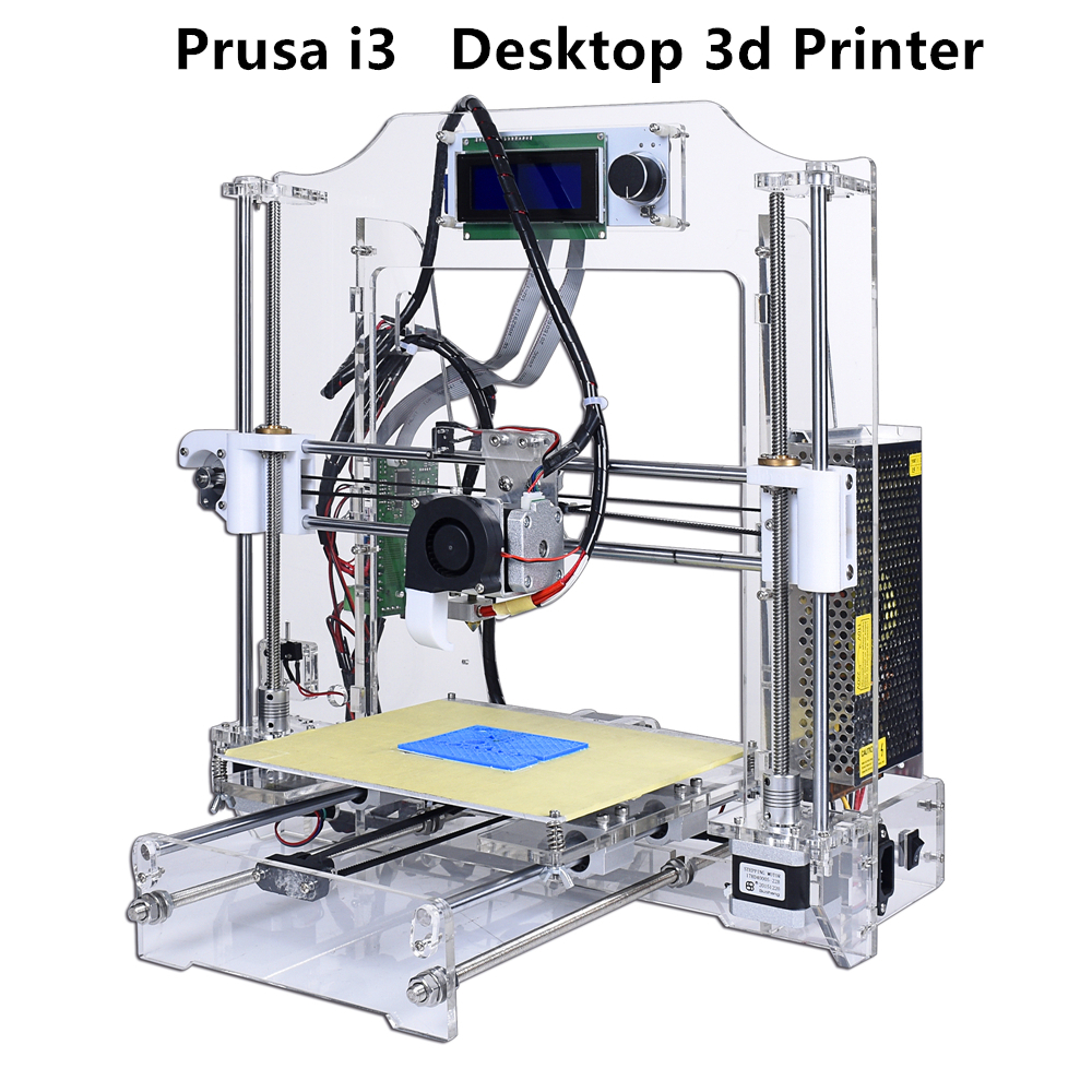 Infitary High Precision Reprap Prusa i3 3d printer kit Acrylic frame impresora 3d Open source Marlin firmware Support refitting