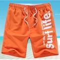 M-5XL Мужчины Шорты Пляж Совета Шорты Мужчины Быстрое Высыхание 2016 Летняя Одежда Boardshorts Песчаный Пляж Шорты