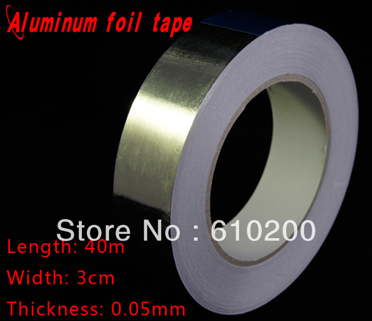 Free Shipping, BGA Accessories Aluminum Foil Tape For BGA Reballing Use (30mmx40mx0.05mm) Silvery Tape Insulation Tape